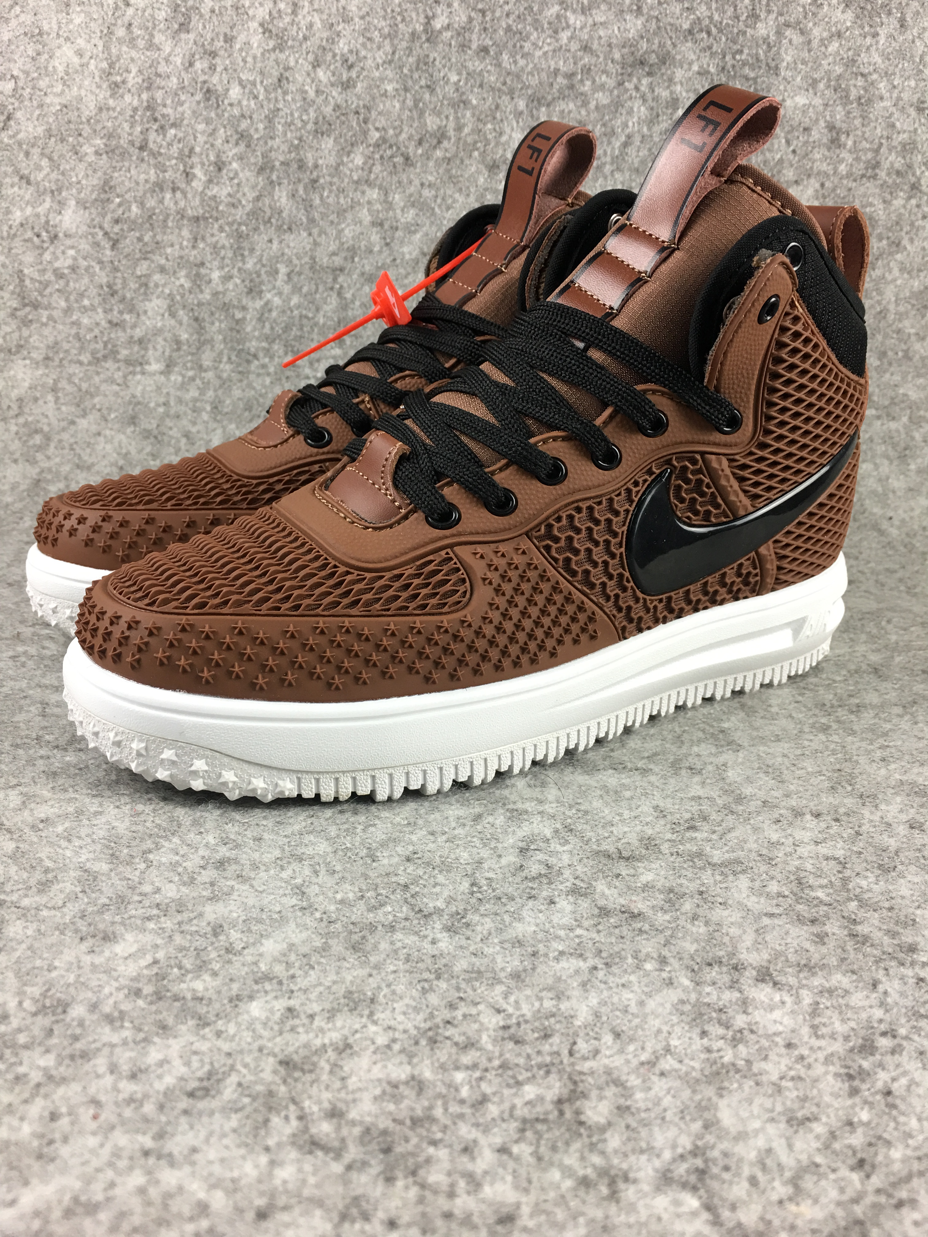 Nike Lunar Force 1 Nano Brown Black Shoes