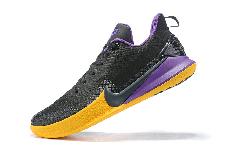 New Nike Mamba Focus EP Kobe Black Purple Yellow