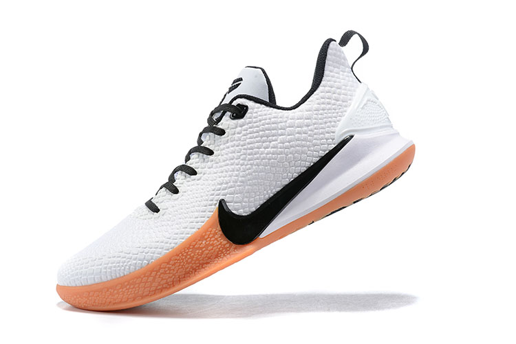 New Nike Mamba Focus EP Kobe White Black Orange