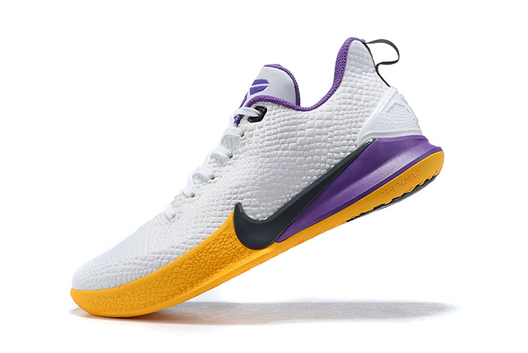 New Nike Mamba Focus EP Kobe White Purple Yellow Black