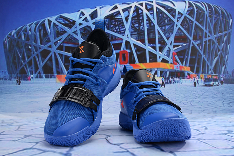 2019 Nike PG 2.5 Deep Blue Orange Black