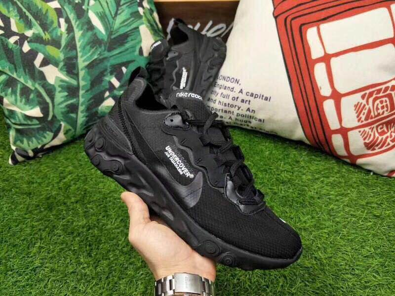 Nike Rest Under Cover All Black Shoes
