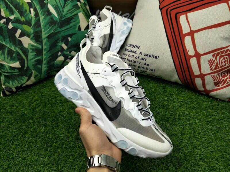 Nike Rest Under Cover White Grey Black Shoes