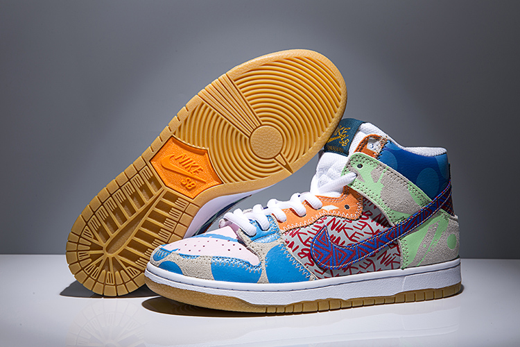 Nike SB Dunk Hi P TC WhatThey Shoes