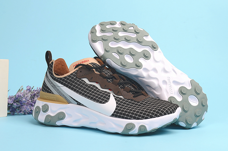 Nike Undercover 55 Brown Grey White Shoes