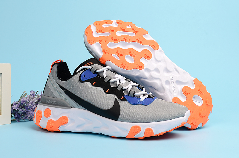 Nike Undercover 55 Grey Black Orange Shoes
