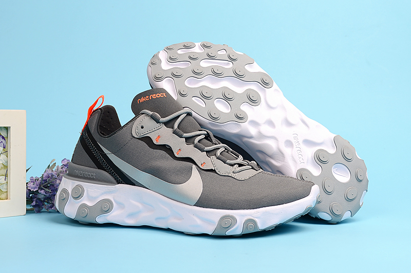 Nike Undercover 55 Grey Silver Shoes