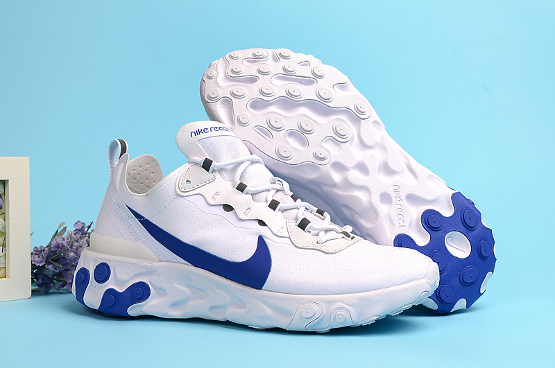 Nike Undercover 55 White Blue Shoes