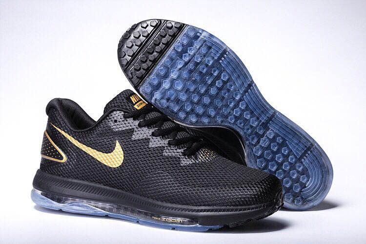 Nike Zoom All Out Low Black Gold Shoes