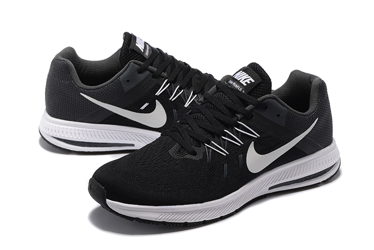 Nike Zoom Winflo 2 Black White Shoes