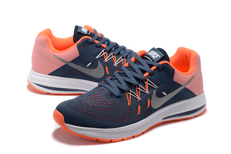 Nike Zoom Winflo 2 Blue Orange Shoes
