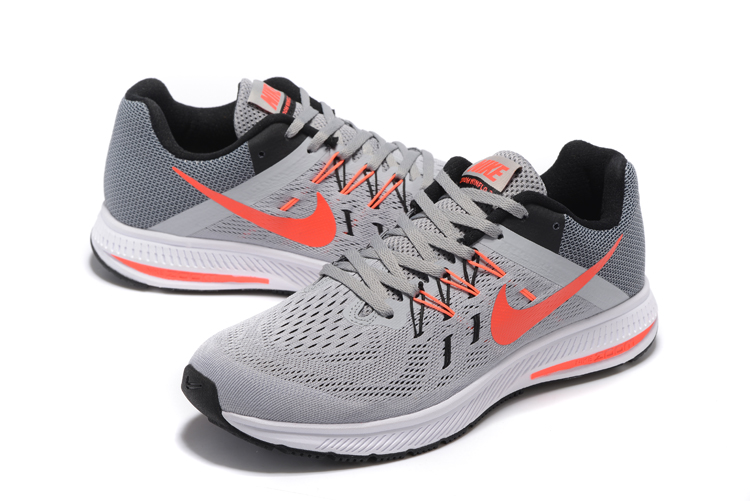 Nike Zoom Winflo 2 Grey Orange Shoes