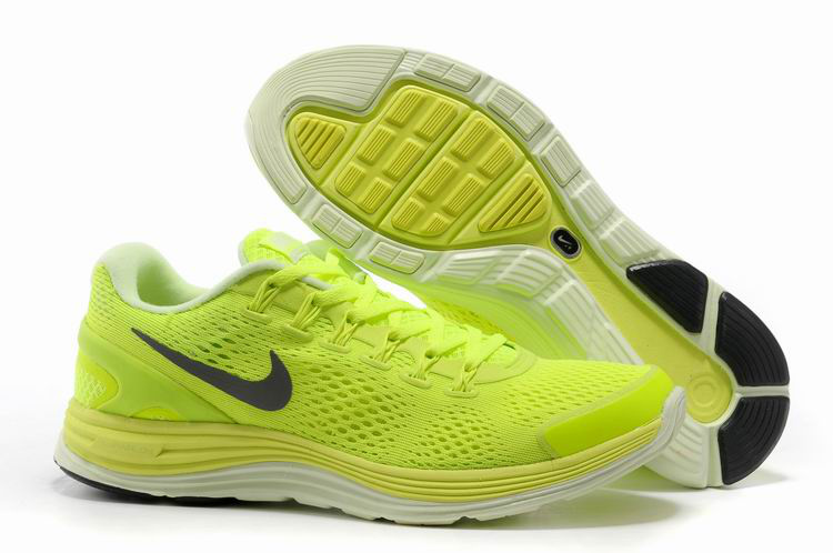 Nike 2013 Moonfall Grenadine Yellow White Sport Shoes