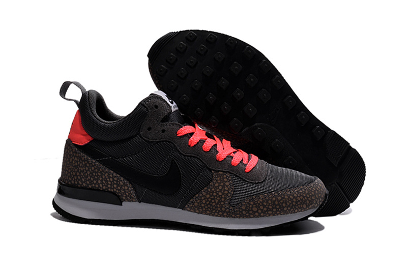 Nike 2015 Archive Black Brown Reddish Orange Women Shoes