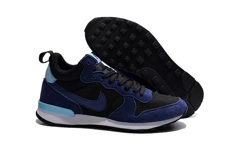 Nike 2015 Archive Black Purple Women Shoes