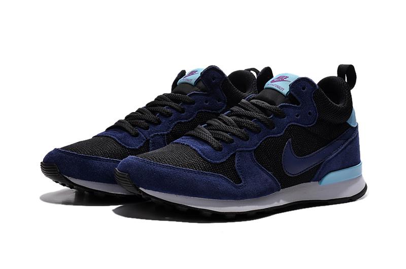 Nike 2015 Archive Black Purple Women Shoes