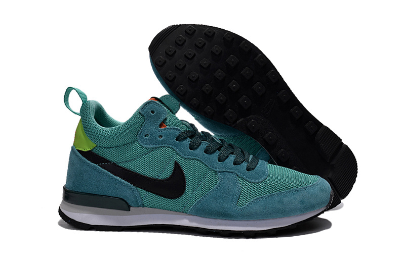 Nike 2015 Archive Blue Black Green Women Shoes