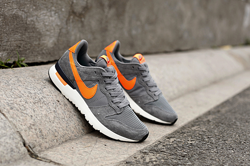 Nike 2015 Archive Grey Orange Women Shoes