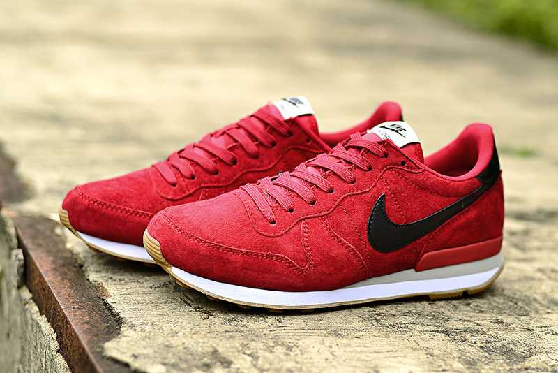 Nike 2015 Archive Red Black Women Shoes