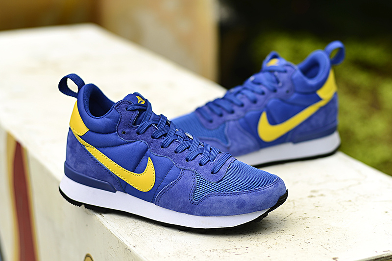 Nike 2015 Archive Royal Blue Yellow Shoes
