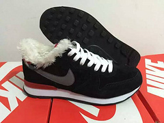 Nike 2015 Archive White Wool Black Women Shoes