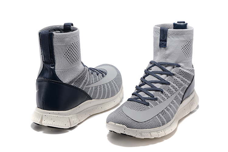 New Nike 5.0 Free Mercurial Superfly Grey Black White Running Shoes