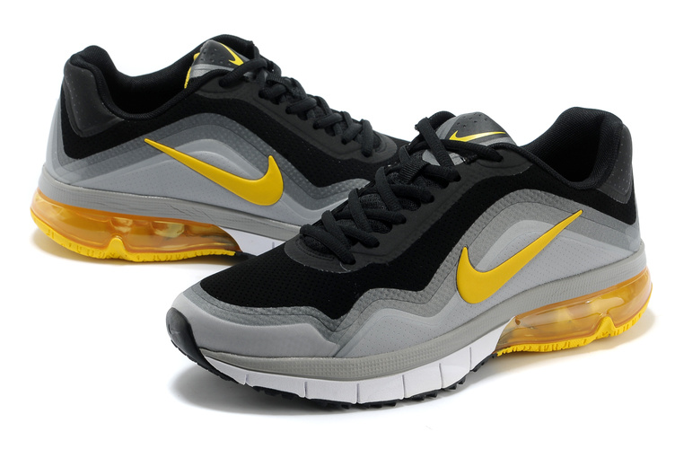 Nike Air Max TR 180 Shoes Black Grey Yellow