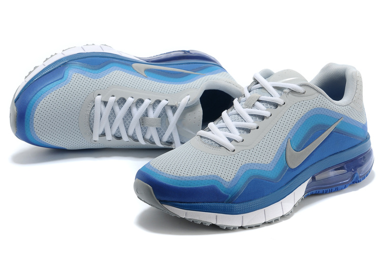Nike Air Max TR 180 Shoes Grey Blue White