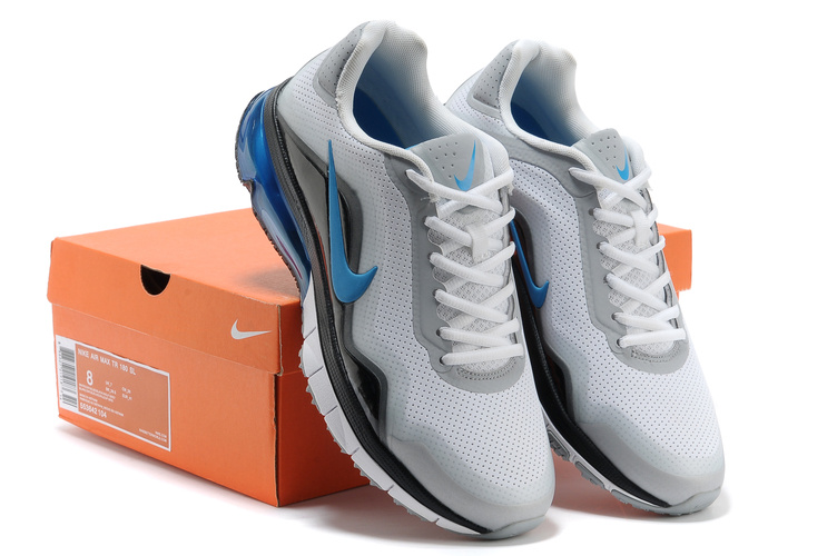 Nike Air Max TR 180 Shoes White Black Blue
