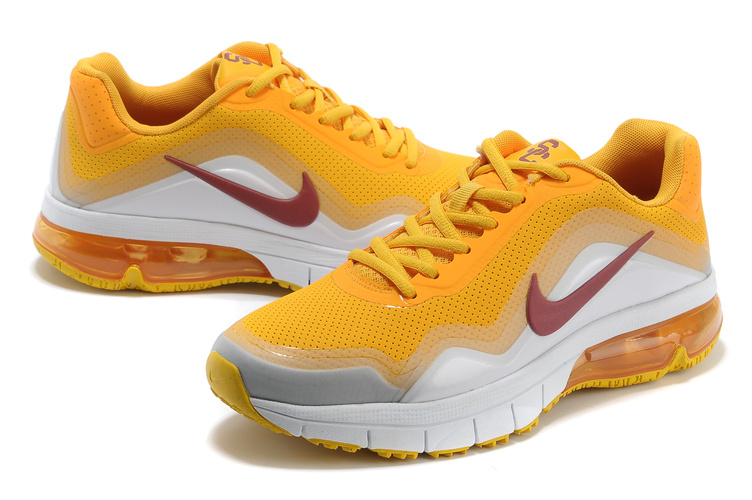 Nike Air Max TR 180 Shoes Yellow Silver White