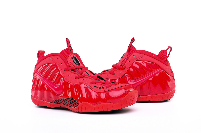 Nike Air Foamposite One All Red Shoes For Women