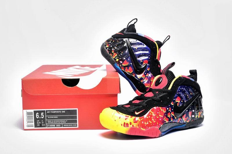 Nike Air Foamposite One Colorful Shoes For Women