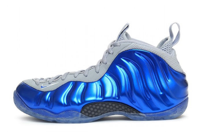 Nike Air Foamposite One Sport Royal Game Royal Wolf Grey For Sale Online