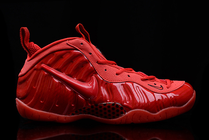 Nike Air Foamposite Pro Red October Gym Red Black For Sale
