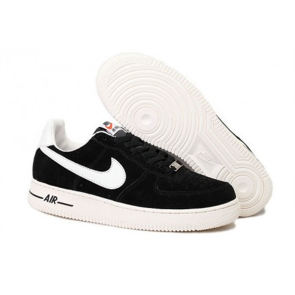 Nike Air Force 1 Low Dark Black White Shoes