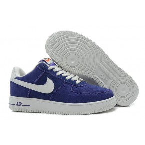 Nike Air Force 1 Low Suede Purple White Shoes