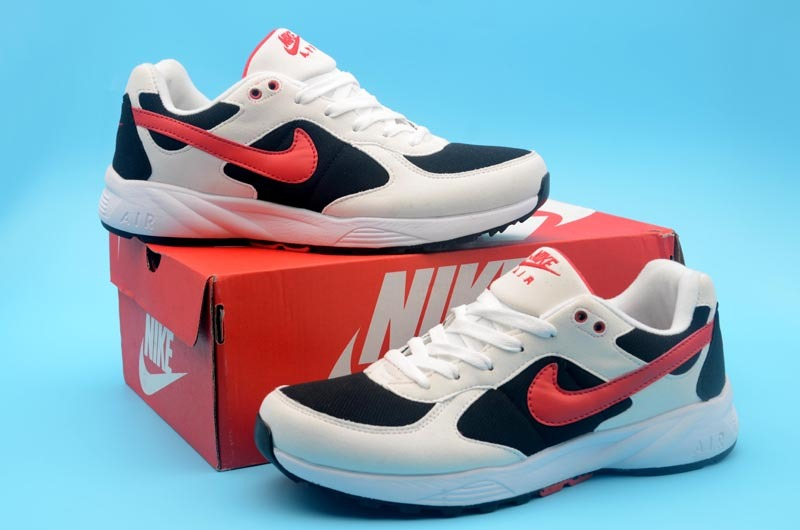 Nike Air Icarus White Black Red Shoes