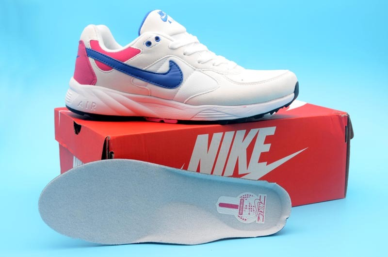Nike Air Icarus White Blue Pink Shoes
