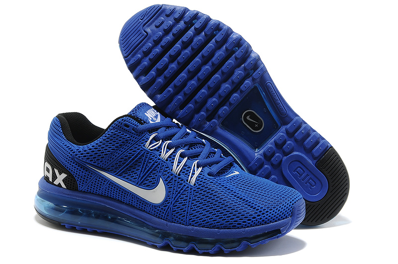 Nike Air Max 2013 Blue Black Sport Shoes