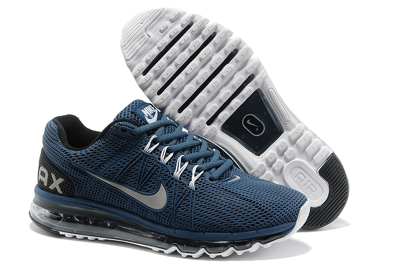 Nike Air Max 2013 Deep Blue Sport Shoes