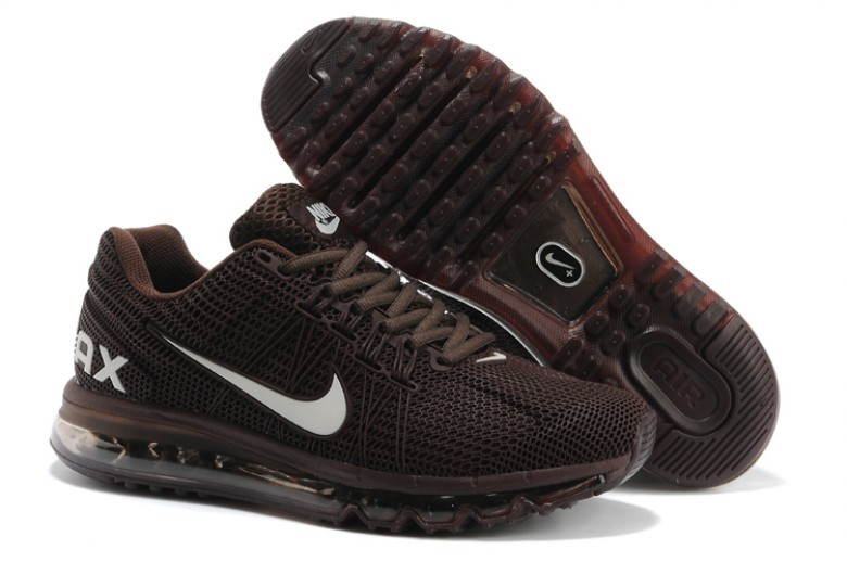 Nike Air Max 2013 Deep Brown Sport Shoes