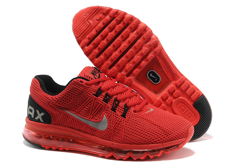 Nike Air Max 2013 Red Black Sport Shoes