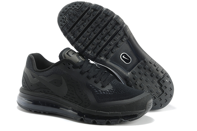 Nike Air Max 2014 All Black Shoes