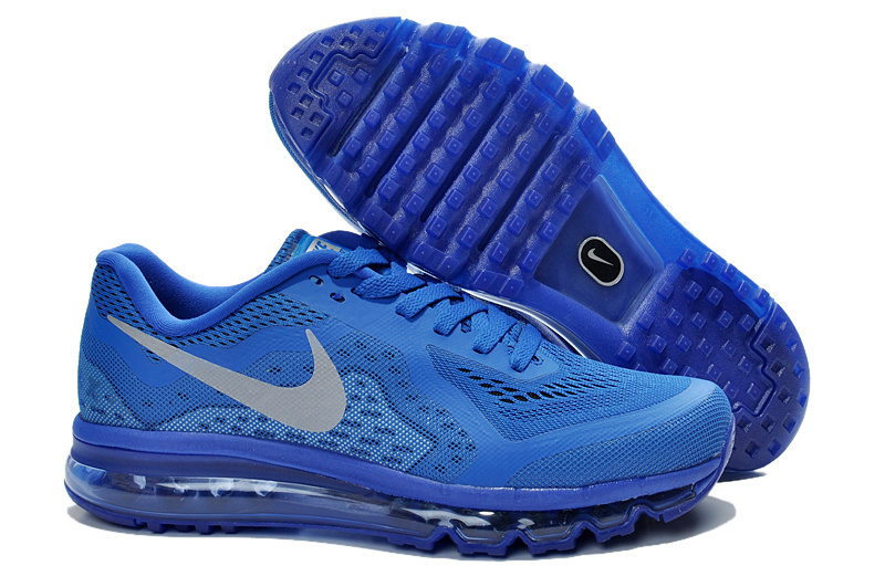 Nike Air Max 2014 All Blue Shoes