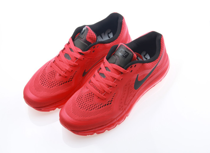 Nike Air Max 2014 All Red Shoes