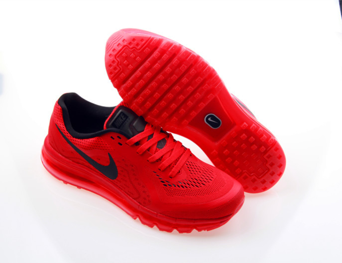 buy popular b7680 99dbc discount herren nike air max 2014 rot schwarz d65e0 8f170