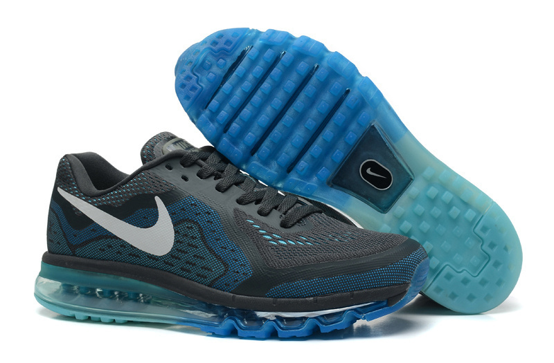 Nike Air Max 2014 Black Blue Shoes