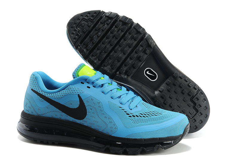 Nike Air Max 2014 Blue Black Shoes