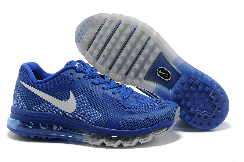 Nike Air Max 2014 Blue White Shoes