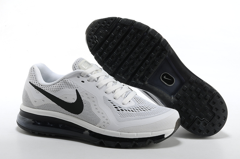 Nike Air Max 2014 Grey Black Logo Shoes